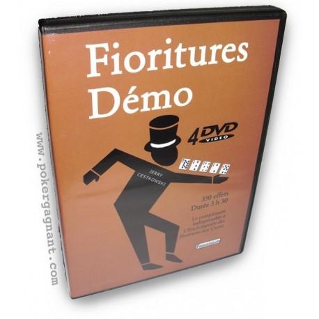 Fioritures Demo - pack de 4 DVD