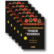Règles Officielles du Poker de Tournoi x 6