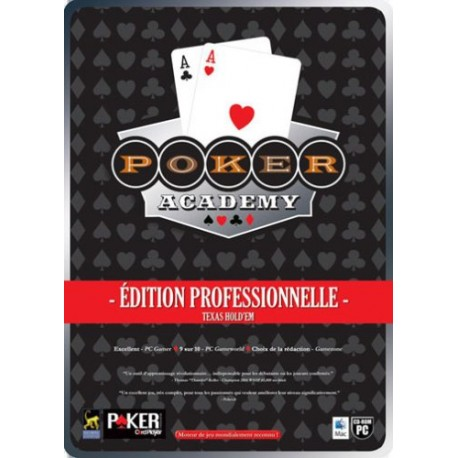 Poker Academy Édition Professionnelle - CD ROM + DVD